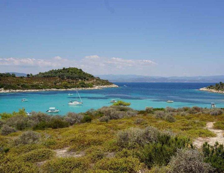 De pracht van het Griekse vaste land