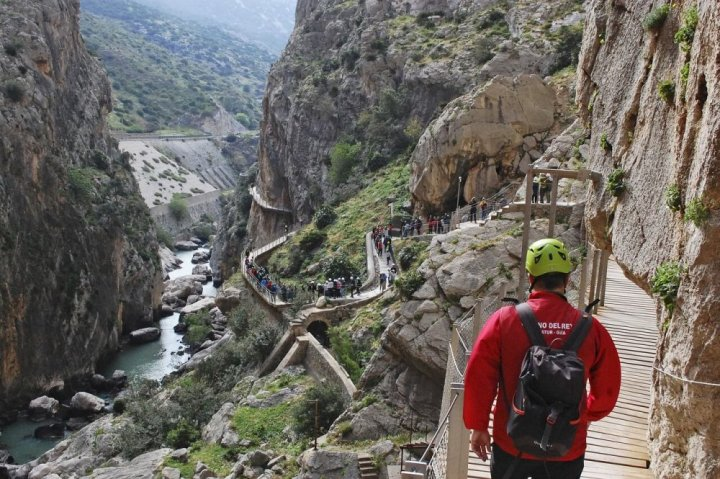 Caminito del Rey, indrukwekkende wandeling!