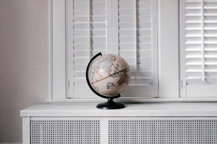 Reis de wereld rond in huis