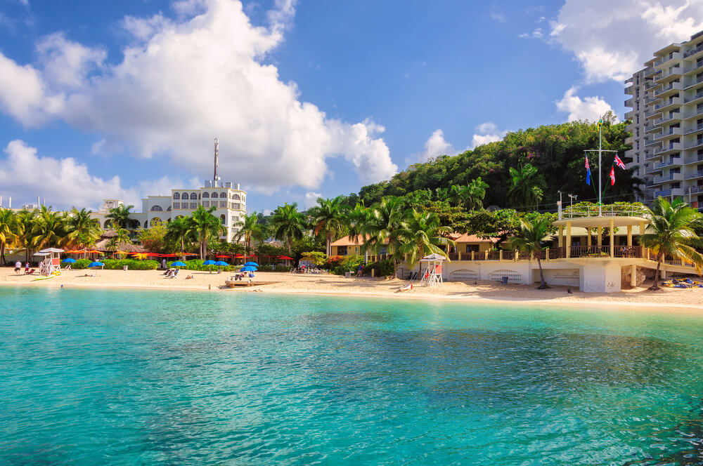 Strand in Jamaica, Montego Bay