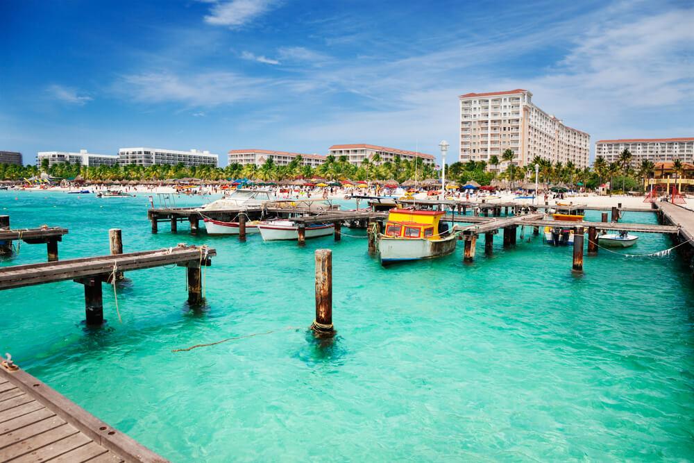 palm beach aruba zonvakantie meivakantie