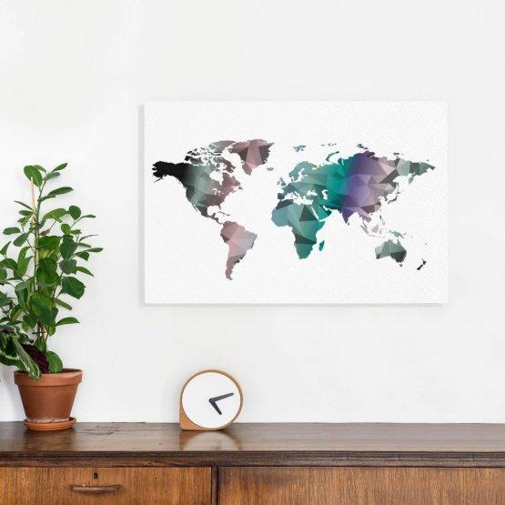 Winnen! 5x Cadeaubon t.w.v. €50,- voor een prachtige wereldkaart!