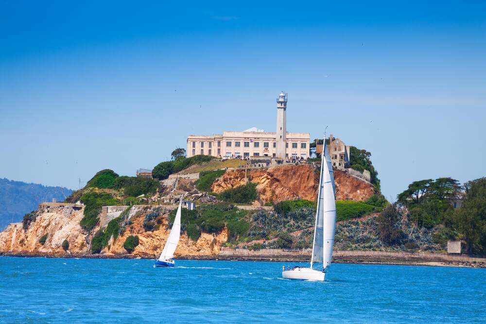 De vlucht naar Alcatraz