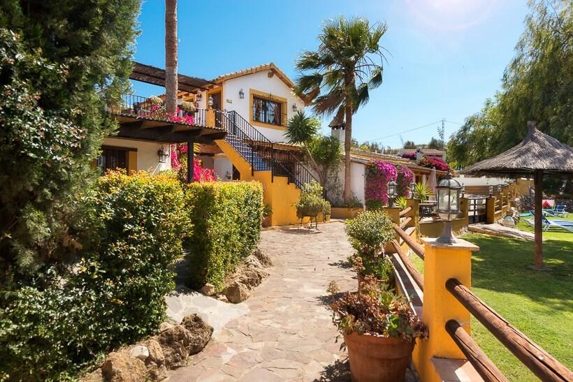 La Granja de Antonio. Een accommodatie van La Casita vakantiehuizen in Andalusië.