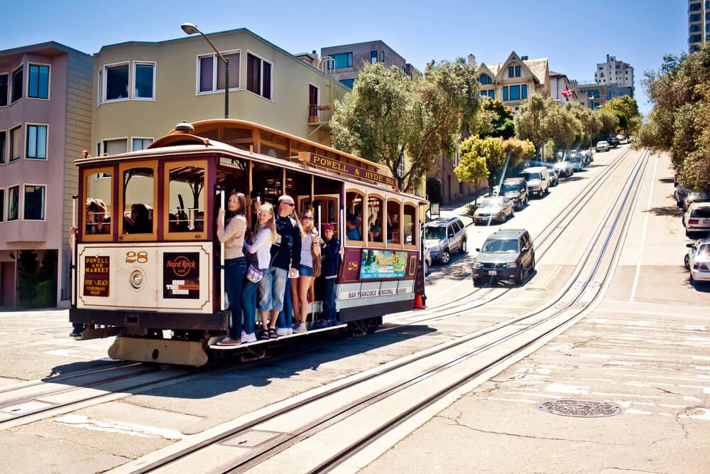Met de kabeltram door San Francisco