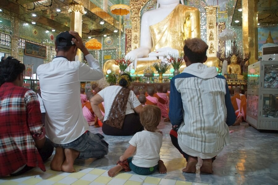Boeddha in Myanmar