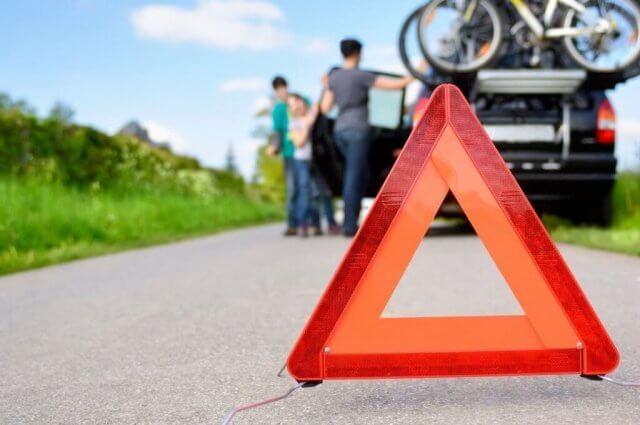 gevarendriehoek auto