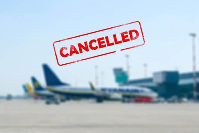 Ryanair vlucht geannuleerd door de staking Dit zijn je rechten