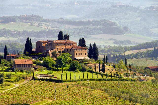 wijnreis toscane