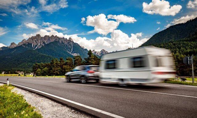 zomervakantie caravan