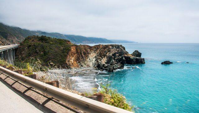 California Coast Route 1 Highway