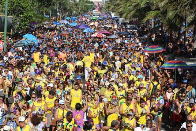 Carnaval in Rio de Janeiro, Brazilië