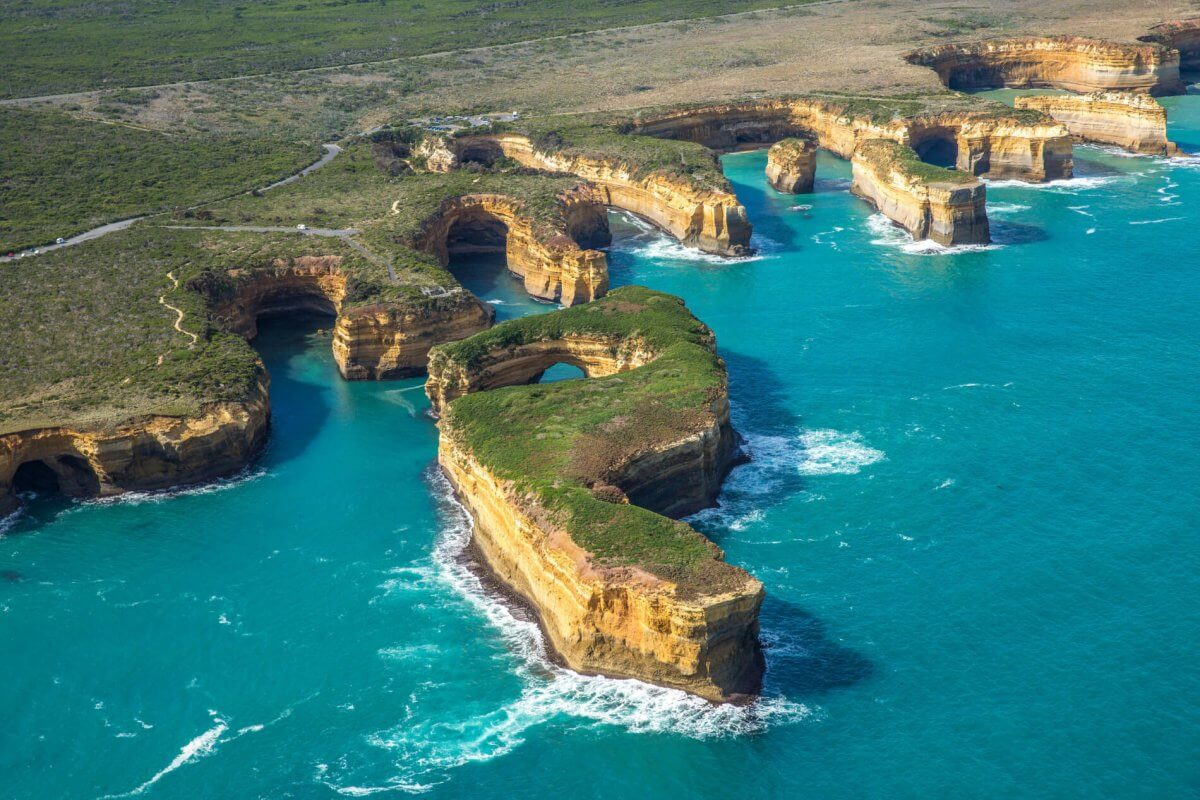 Great Ocean Road Aerial