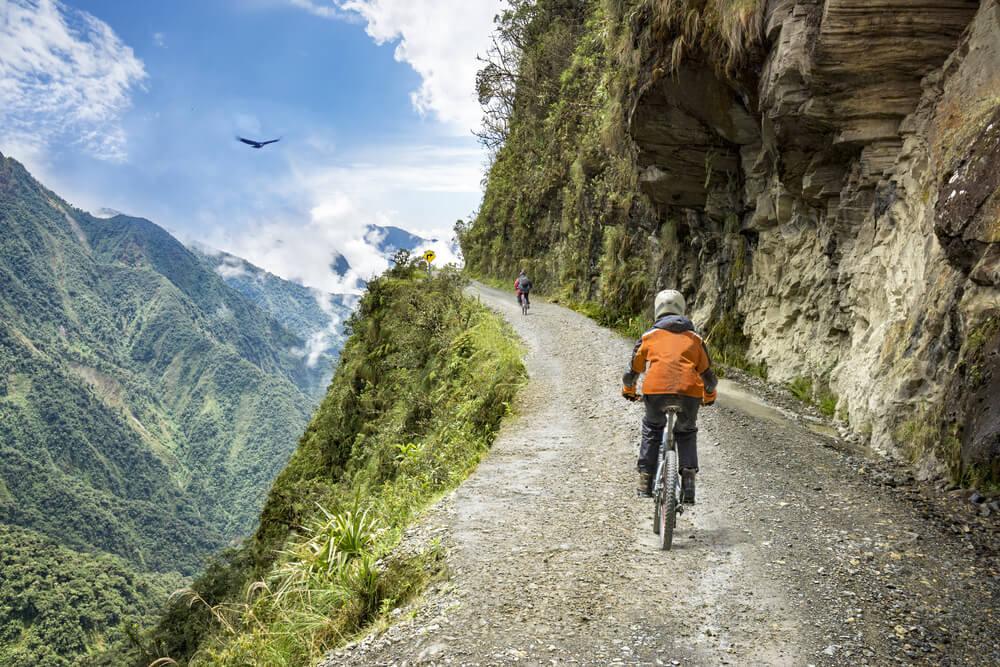 Het fietsen van 'The Death Road' (Bolivia)