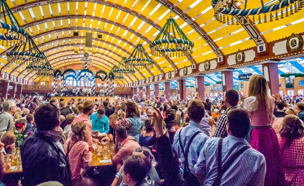 Oktoberfest in München, Duitsland