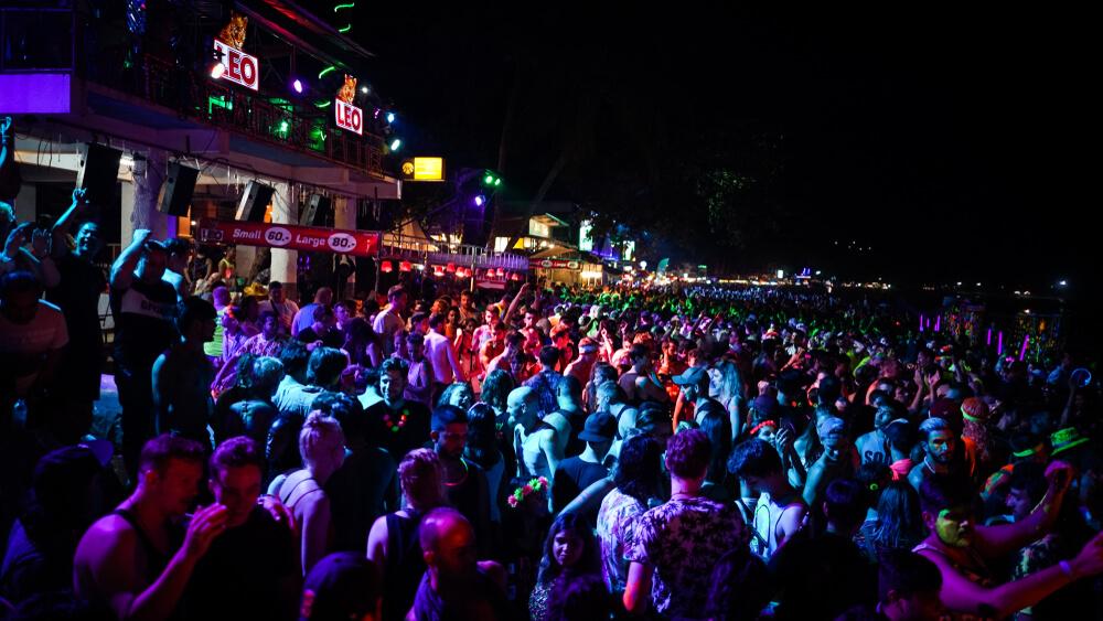 Full Moon Party, Koh Phagnan, Thailand