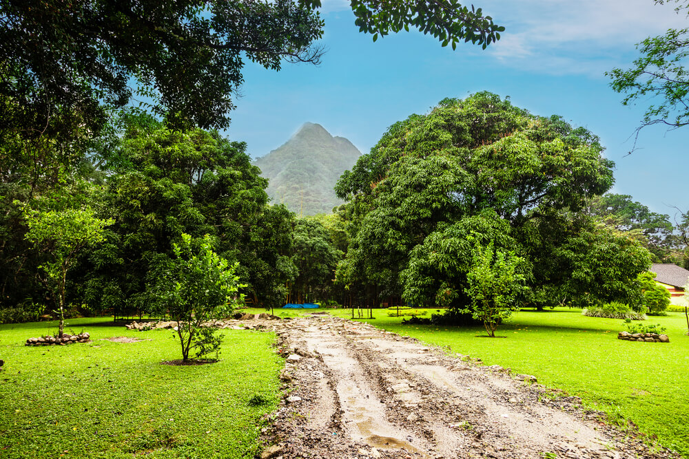 De Antonvallei in Panama wordt beschouwd als een van de mooiste plekken in Panama.