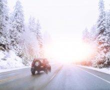 Wintersport auto oostenrijk