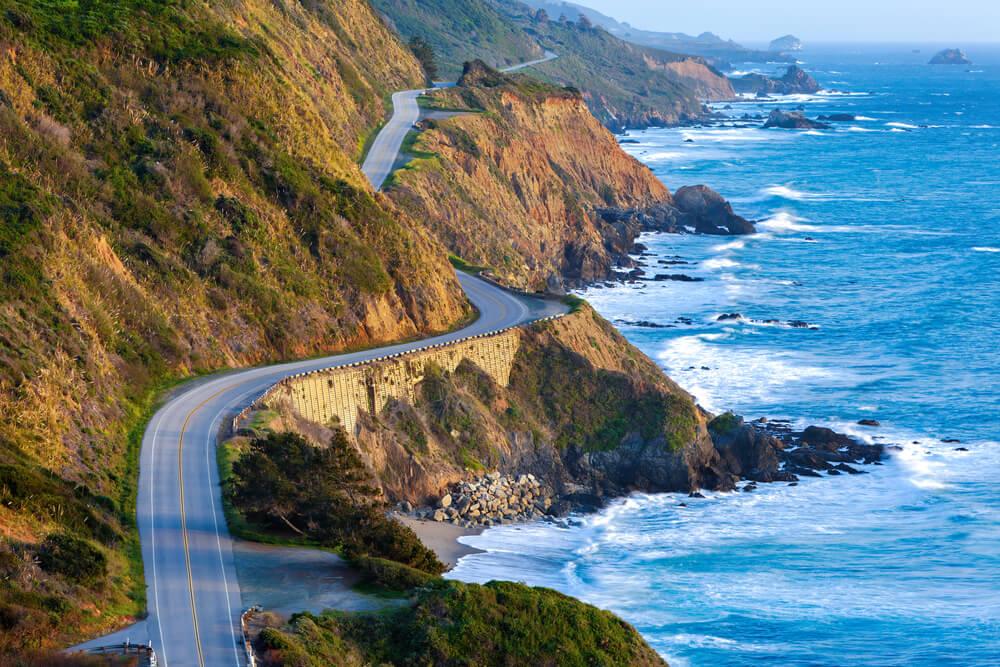 De kust van California