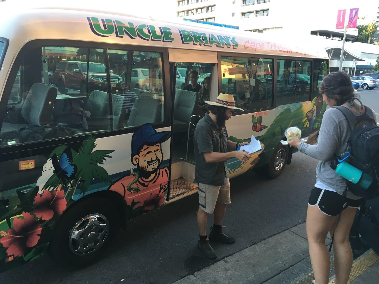 Trip Daintree Rainforest - Opgepikt worden bij Hostel
