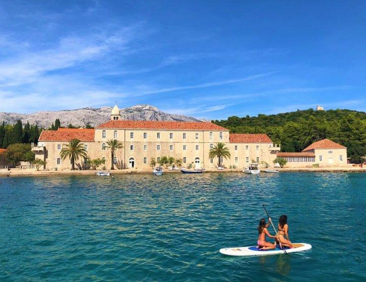 Pareltjes in de Adriatische zee