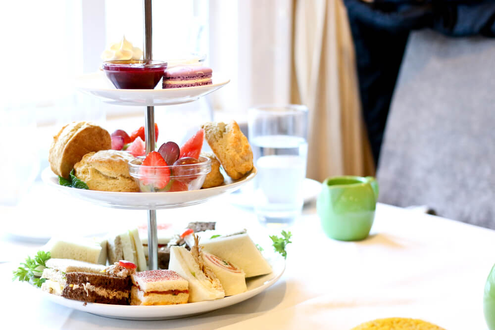 High tea in het Amstel Hotel
