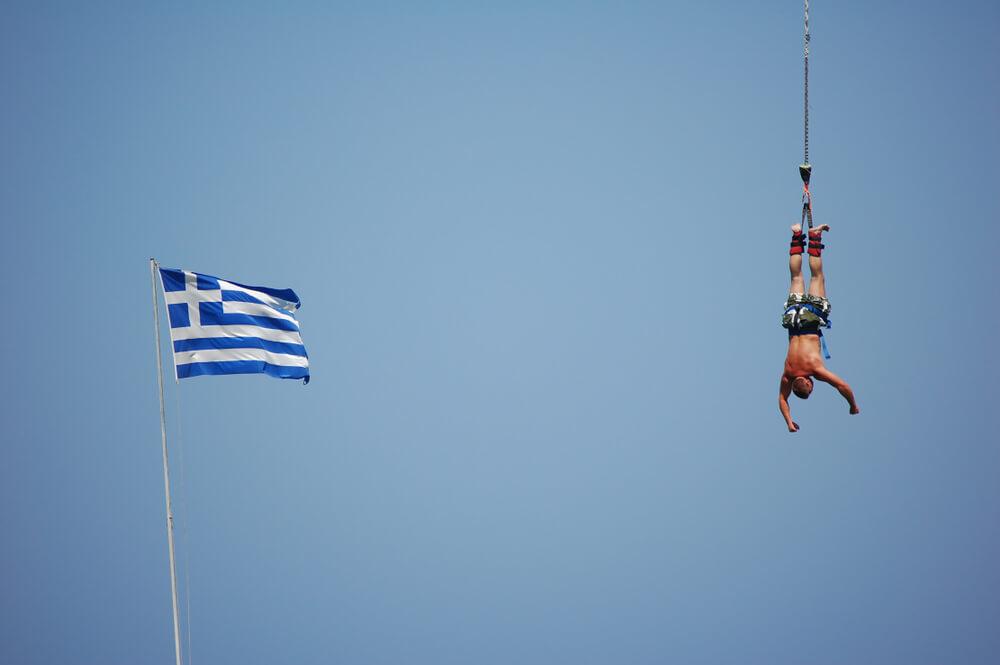 Bungeejump Griekenland