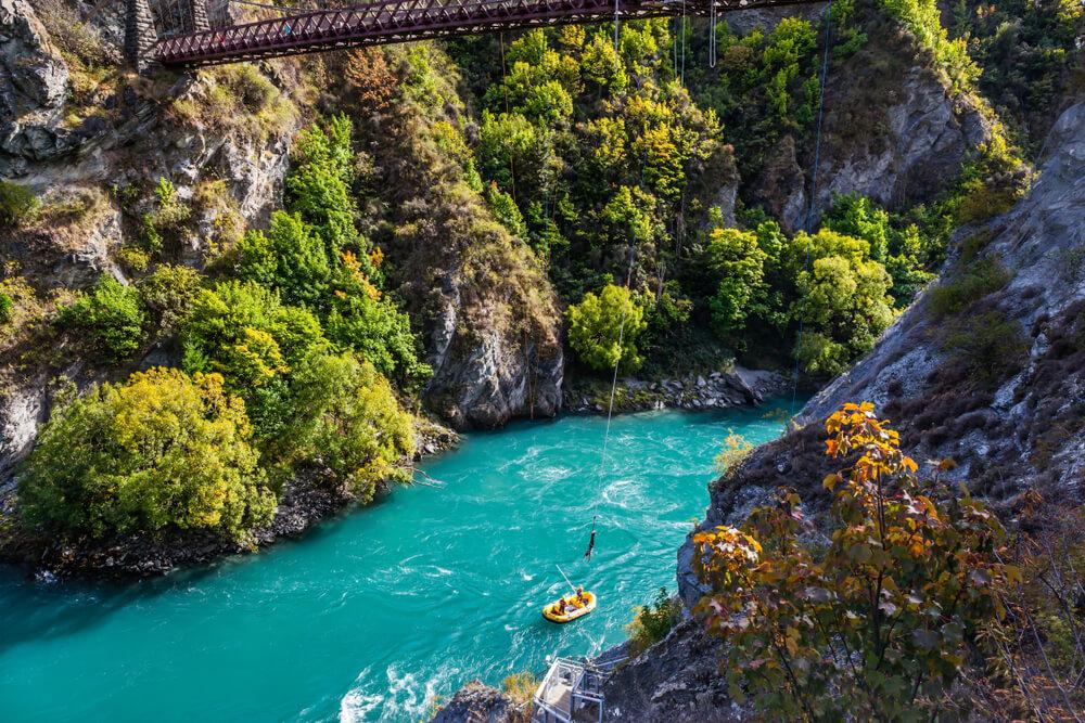 Bungeejump Nieuw-Zeeland
