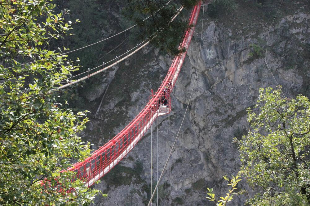 Bungee jump Zwitserland