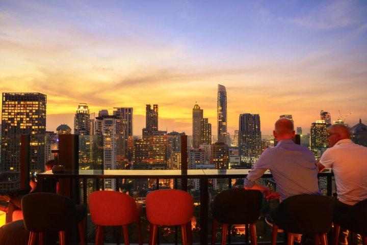 De mooiste rooftop bars ter wereld