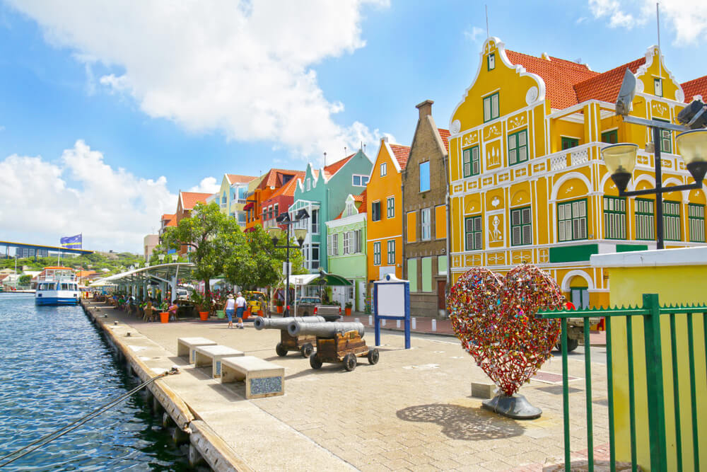 zonbestemmingen april curacao