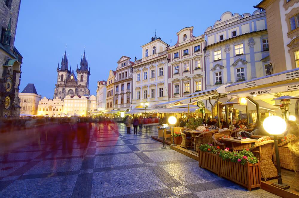 Restaurant in Praag