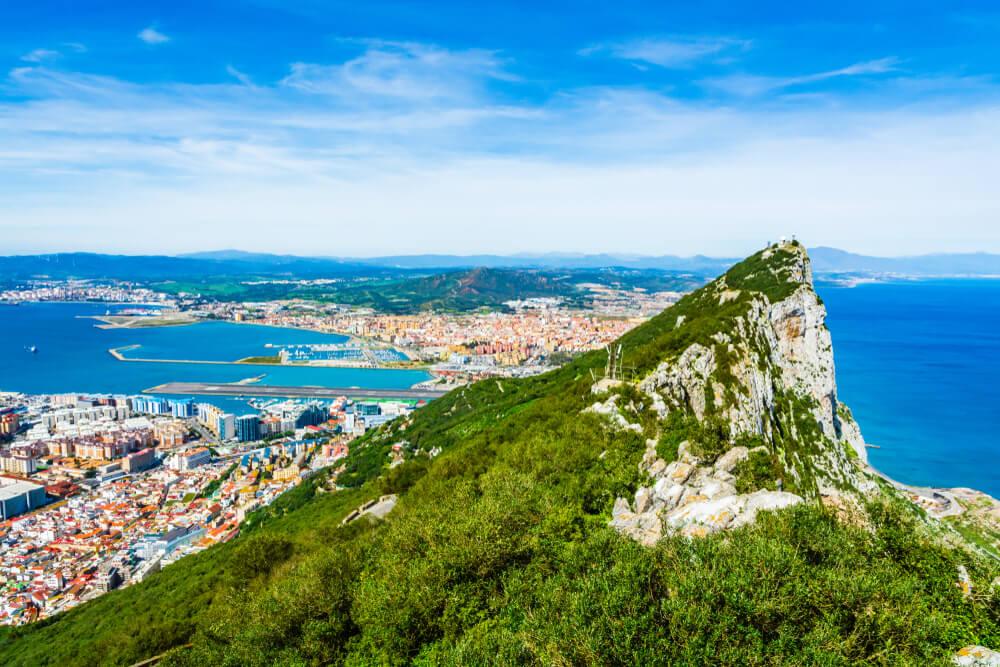 De Britse kolonie Gibraltar