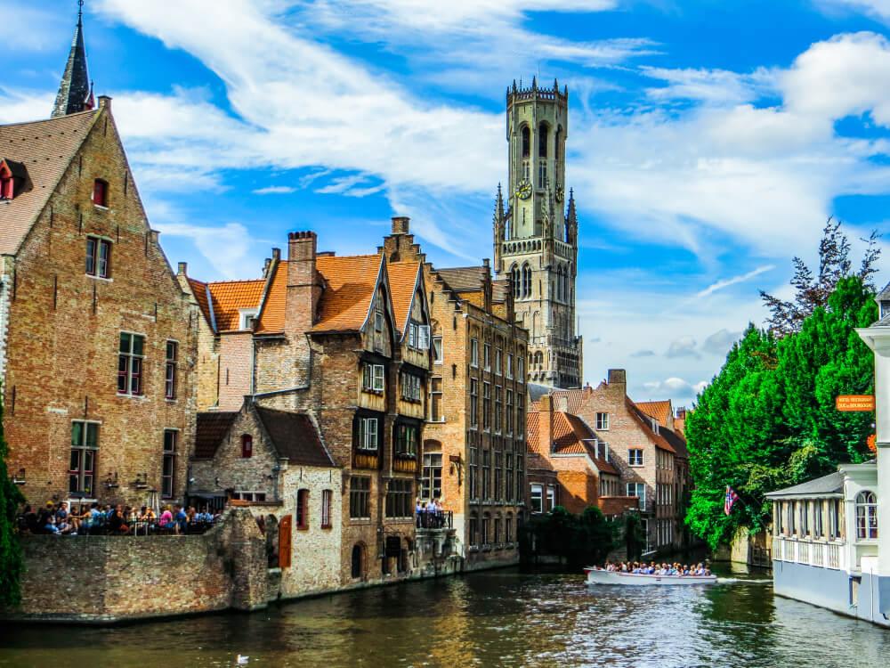 De top 10 bezienswaardigheden van Brugge
