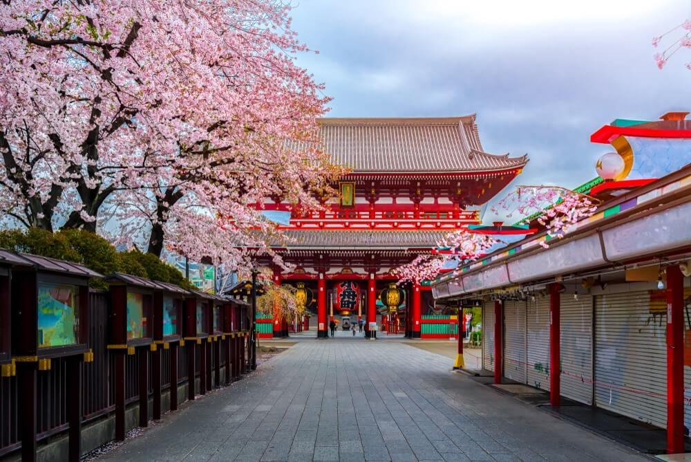 tempels in Asakusa