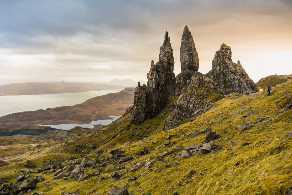 De imposante Old man of Storr