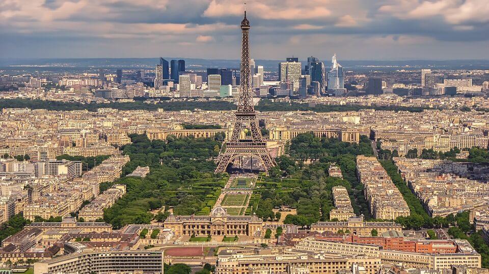 parkeren in Parij