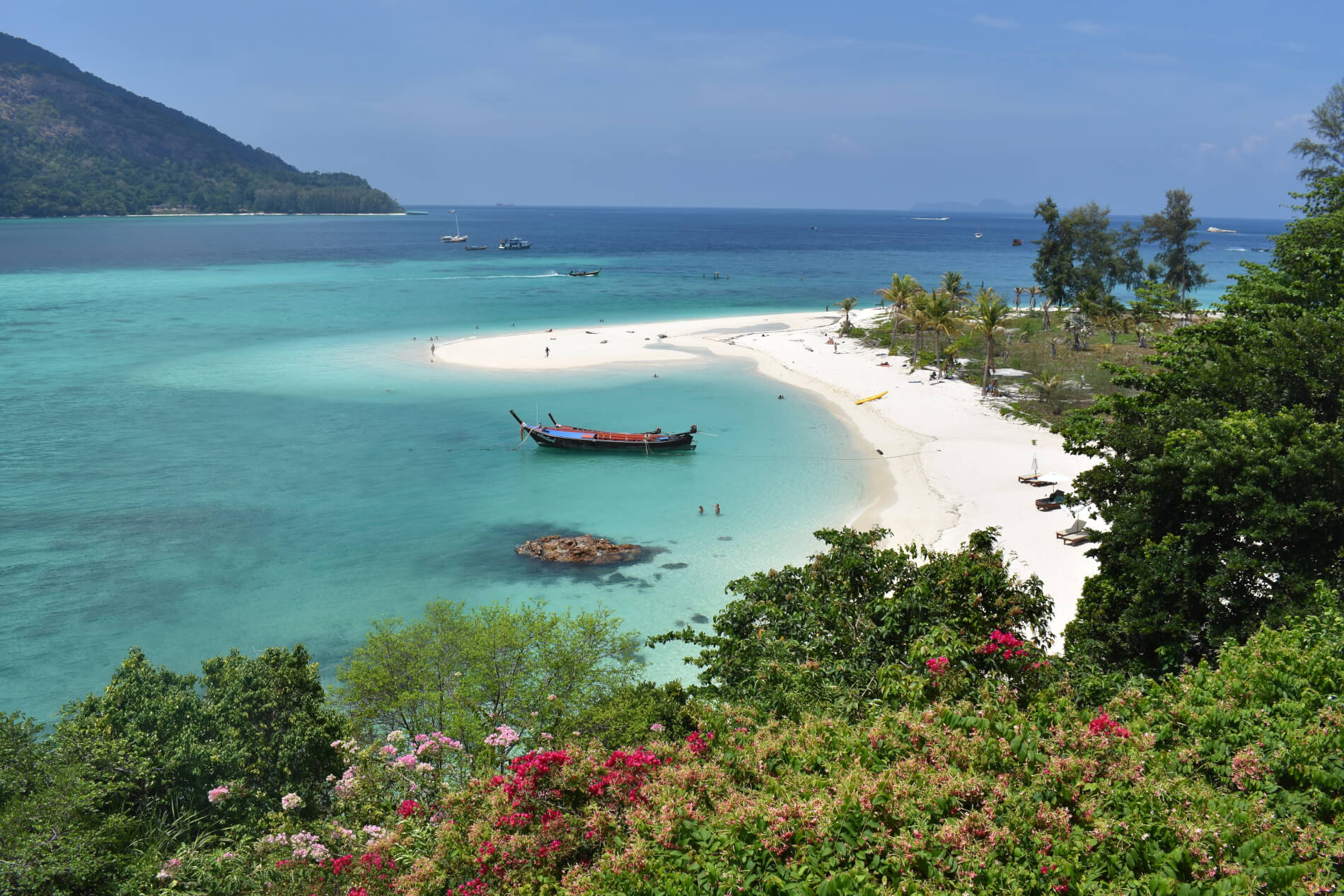 Sunrise Beach op Koh Lipe, Thailand