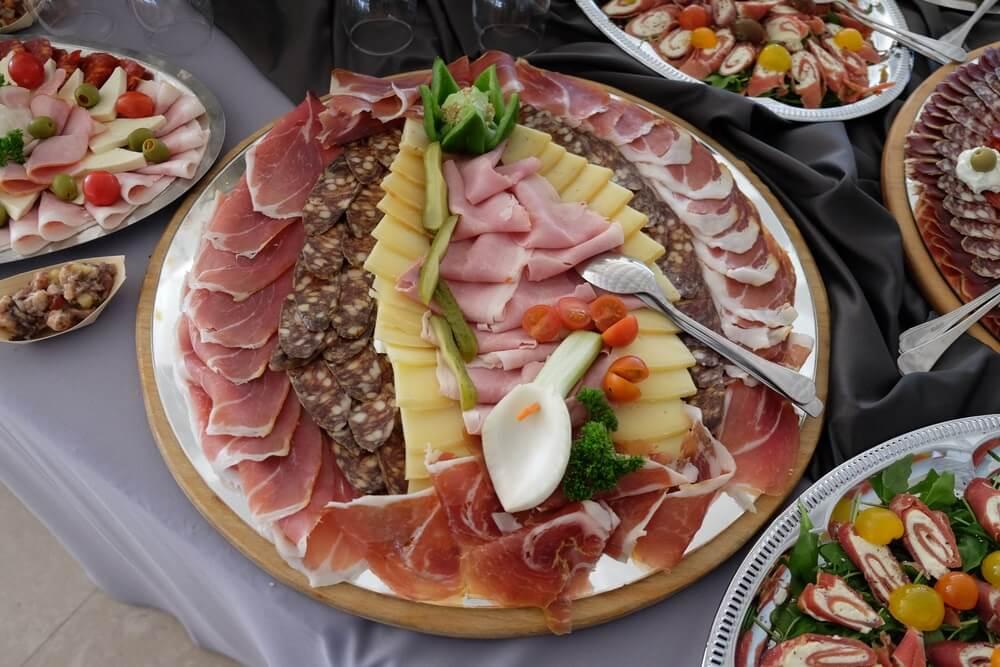 Typische Kroatische gerechten