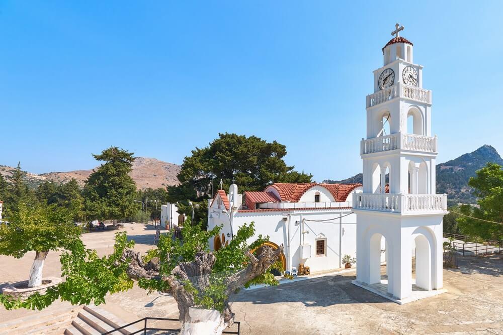 Het klooster van Tsambika