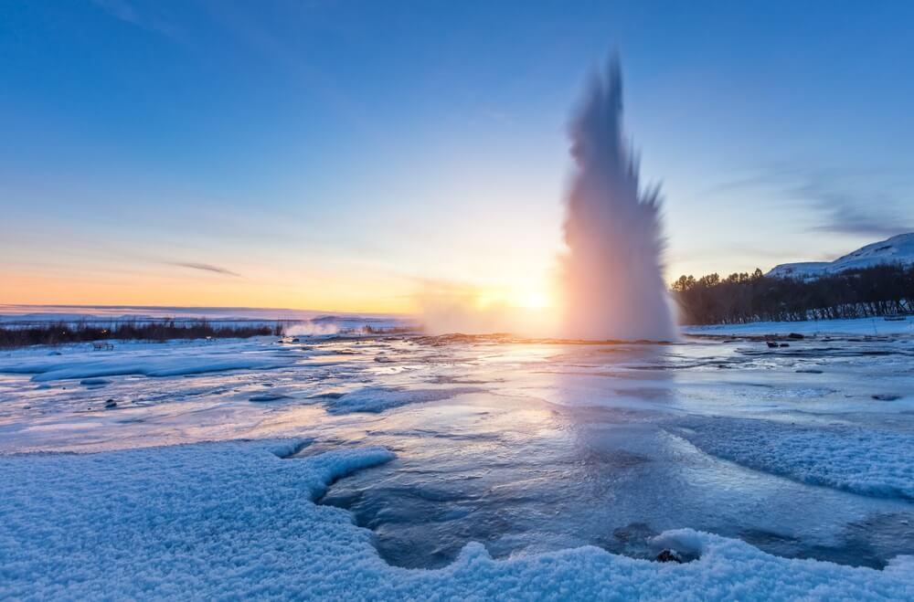 geysir IJsland