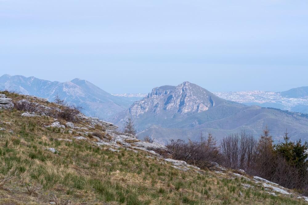 ligurische alpen manarola italie