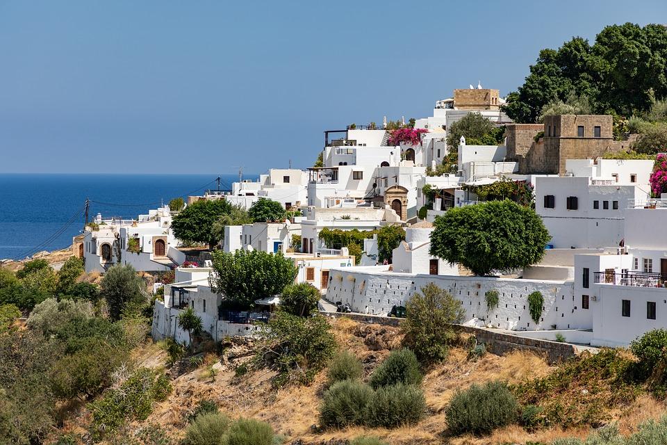 lindos rhodos griekenland 2