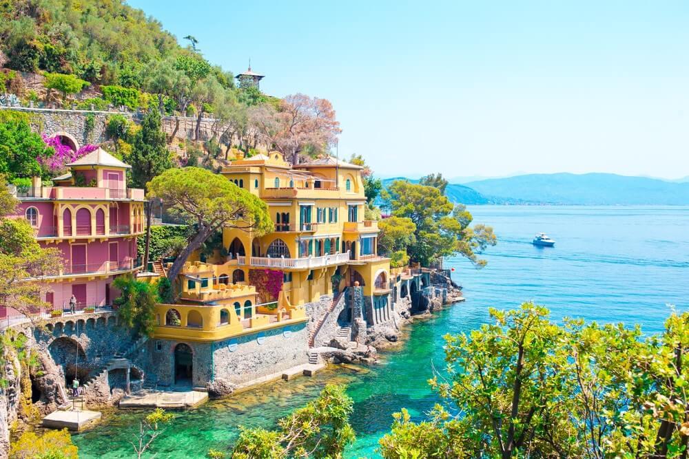 prachtige huisjes in Portofino