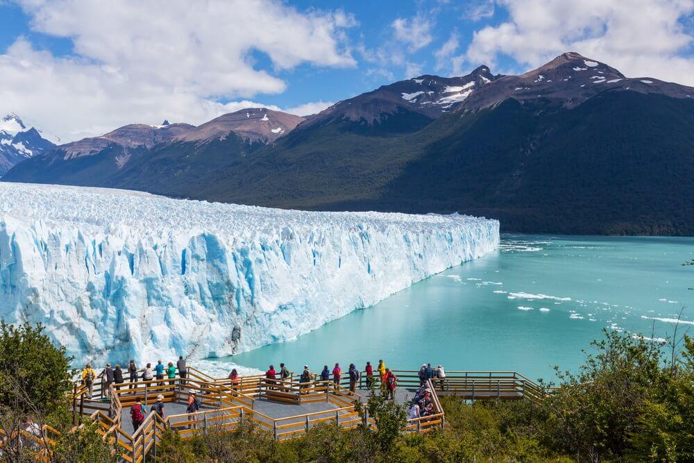 Perito Moreno in Los Glaciares Argentinië