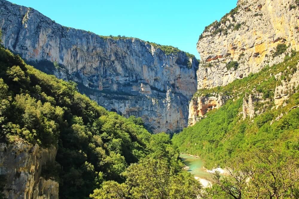 gorges du verdon bergen frankrijk