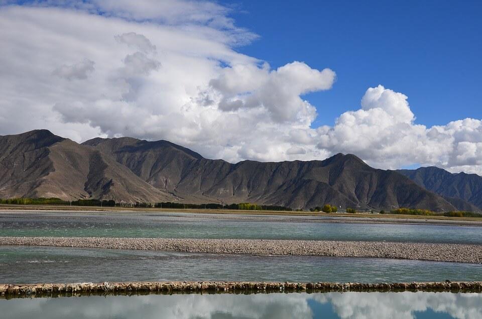 lhasa rivier tibet reizen