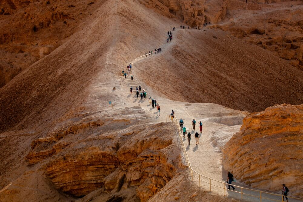 snake path masada israel