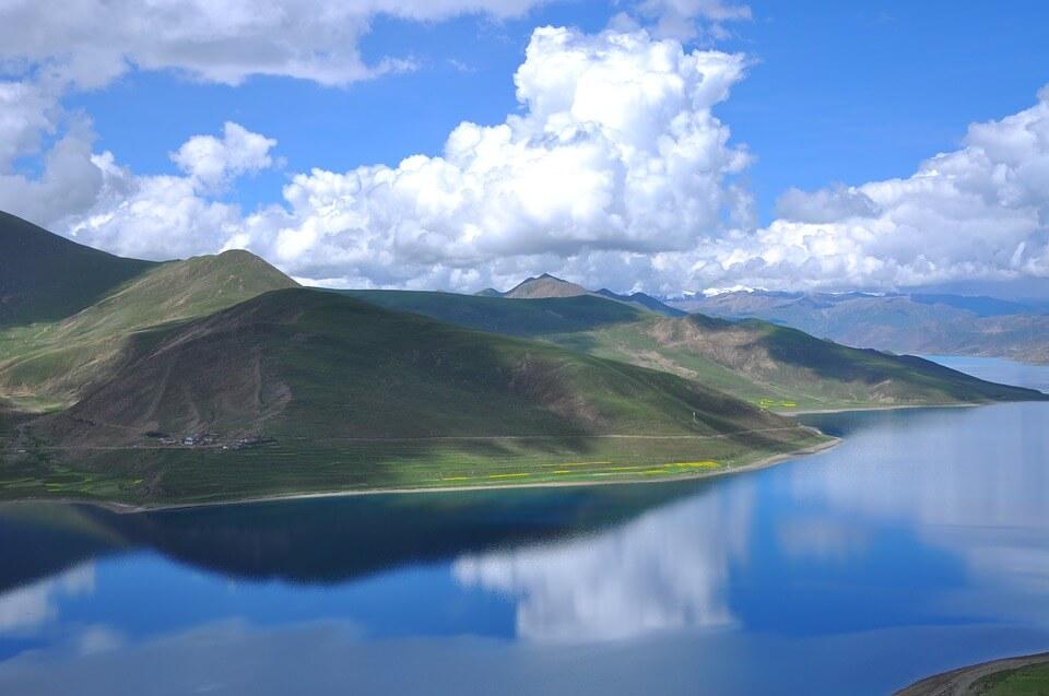 yamdrok meer tibet vakantie