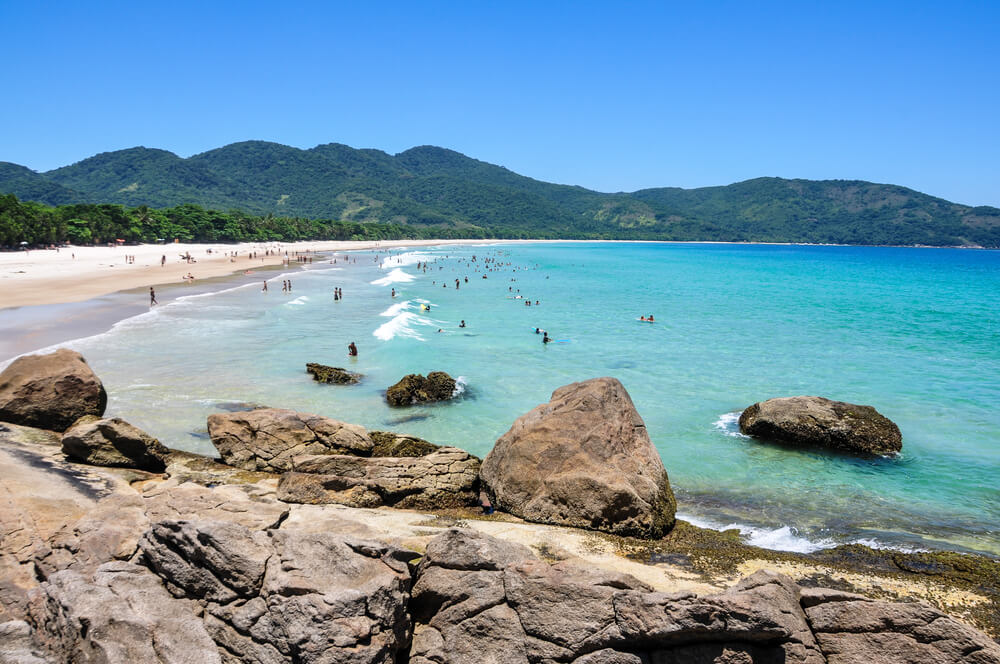 Lopes Mendes Beach, Brazilië